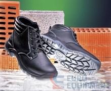 Ботинки кожаные ГРЕЙДЕР на шерстяном меху с композитным подноском