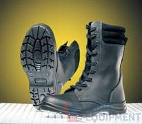 Ботинки ШЕРИФ кожаные меховые