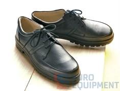 Полуботинки кожаные мужские на шнурках