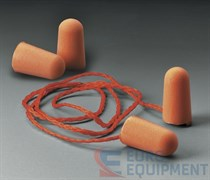 Вкладыши противошумные 1110 со шнурком (упаковка 100 пар)