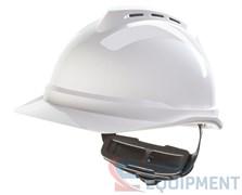 Каска защитная ВИ-ГАРД 500 с оголовьем Push-Key белая