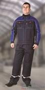 Куртка СТИЛЬ-ТРЕК сине-васильковая