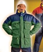 Куртка РУССКАЯ АЛЯСКА (зеленая)