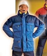 Куртка РУССКАЯ АЛЯСКА (голубая)