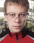 Очки защитные ОП-ТЕМА, прозрачные линзы с покрытием от царапин