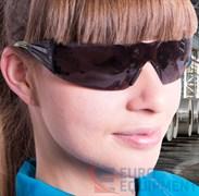 Очки защитные открытые 3M™ SecureFit 402, цвет линз дымчатый