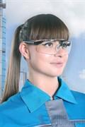 Очки Maxim поликарбонатные, цвет линз - прозрачный
