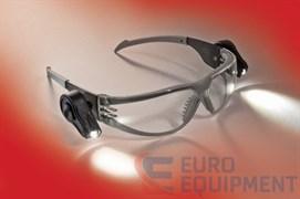 Очки LED LIGHT VISION защитные открытые. Цвет линз - прозрачный