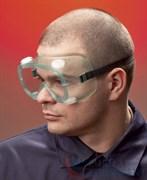 Очки закрытые Эл-Джи-20, непрямая вентиляция, прозрачные поликарбонатные линзы повышенной ударопрочности