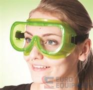 Очки защитные закрытые ЗП8 ЭТАЛОН, прямая вентиляция