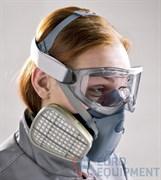 Очки закрытые защитные 3М 2890 поликарбонатные, непрямая вентиляция