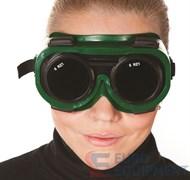 Очки защитные закрытые ЗН62 ГЕНЕРАЛ для сварщика, непрямая вентиляция