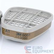 Фильтр противогазовый (защита от орг.паров)6001(6051) (шт) 3М