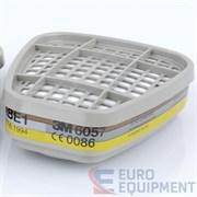 Фильтр противогазовый (защита от органических паров и кислых газов) 6003(6057) (шт) 3М