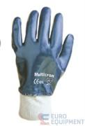 Перчатки х/б МУЛЬТИКРОН с нитриловым покрытием (покрытие полностью, трикотажный манжет).