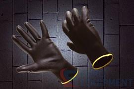 Перчатки МУЛЬТЕКС с тонким полиуретановым покрытием черные