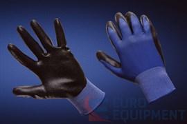 Перчатки МУЛЬТЕКС с губчатым нитриловым черным покрытием