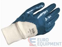 Перчатки х/б ТИТАН с нитриловым покрытием, трикотажный манжет, покрытие ладони