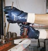 Перчатки х/б ТИТАН с нитриловым покрытием, трикотажный манжет, покрытие полностью