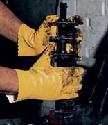 Перчатки х/б Декстрем нитриловые, крага, покрытие полностью