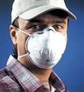 Полумаска для защиты от пылей и туманов 3М 8101 (упаковка 720 шт.)