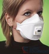 Полумаска фильтрующая 3М Aura™ 9332+ для защиты от пылей, туманов и дымов (с клапаном выдоха)