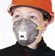 Полумаска фильтрующая 3М 9914Р противоаэрозольная для защиты от кислых газов