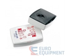 Противоаэрозольный фильтр (6035) высокой эффективности (Р3)