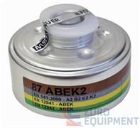 Фильтр сменный противогазовый с круглым резьбовым соединением, 90 А