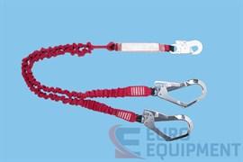 Строп двуплечевой эластичный LE101 с амортизатором BW200 и карабинами 002 022 серии ВЕРШИНА
