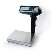 Весы-регистраторы МК-6.2-RP10-1 с печатью этикеток, с подмоткой
