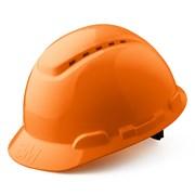 G3000CUV OR Каска защитная оранжевая, c вентиляцией, с УФ-индикатором