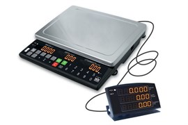 Торговые весы ТВ-S-15.2-А2 складная стойка с ЖКИ индикатором, аккумулятор