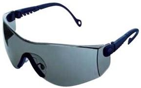 Открытые защитные очки Оп-Тема (Op-Tema) синяя оправа, дымчатые линзы с покрытием от царапин