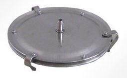 Крышка из н/ст для ячейки под фильтр d110 или d142 мм