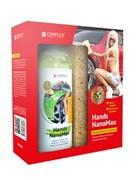 """HANDS NANOMAX, КОМПЛЕКТ - средство для ручной мойки автомобиля с грязезащитным и водоотталкивающим эффектом губка в подарок!"""" 0,5 кг"""