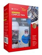 "COMPLEX TWIN - набор автокосметики для салона автомобиля губка + микрофибрав подарок!"" 1 кг"