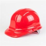 """Защитная каска """"Бриз-5001"""" (красный цвет)"""