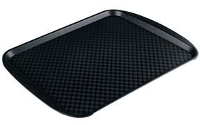 Поднос столовый из полипропилена 450х350 мм черный [4660011181790, 422108813]