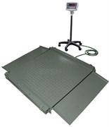 Платформенные весы ЕВ4-WI-5R-2000 с подвижной стойкой
