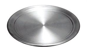Противень алюминиевый 400х400 мм для пиццы