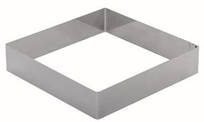 Форма для торта квадратная 260 мм, нержавеющая сталь