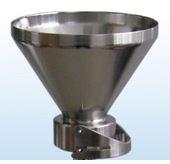Воронка фильтровальная (конус съёмный со скобой) из н/ст V 300 мл или 500 мл под фильтр d35 мм или d47 мм