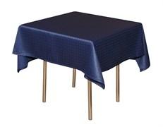 Скатерть 145х195 см «Мираж» синяя