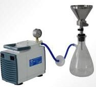 ПВФ-35(47)/1 НБ Коллектор с 1 воронкой (V 300 мл), вакуумный насос, ресивер (V 2500 мл), фильтр-влагоотделитель, трубопроводы