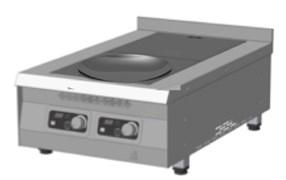 Плита 900 серии индукционная ITERMA пки-2к-550/850/250 комби