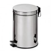 Корзина для мусора с педалью Classic, 20 литров (полированная)