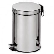 Корзина для мусора с педалью Classic, 30 литров (полированная)