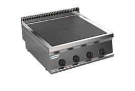 Плита 4 конфорочная 700 серии TECNOINOX PCU70E7 616091