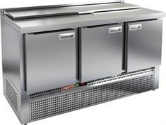 Стол охлаждаемый для салатов SLE1-111GN с крышкой